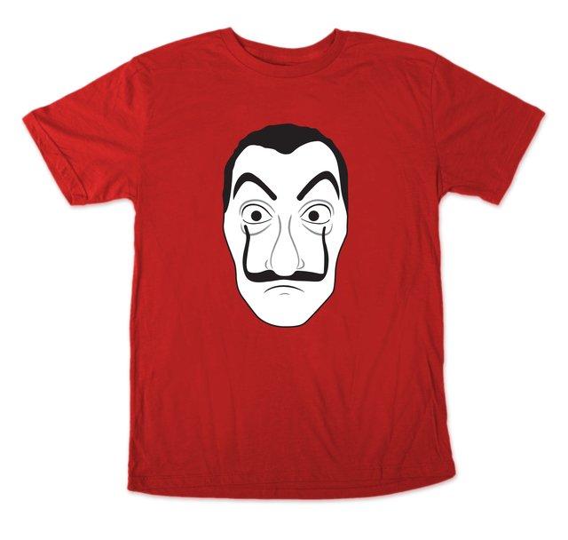 La Casa de Papel - Máscara Dalí - Valkyrya Productos 60280d83cc517