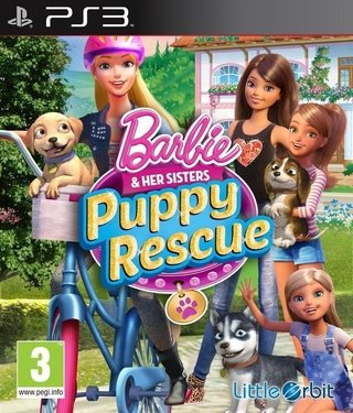Barbie Puppy Rescue PS3 Digital