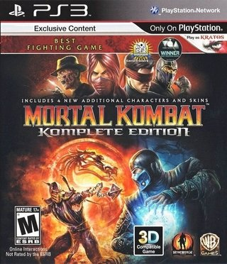 Mortal Kombat 9 Komplete PS3 Digital