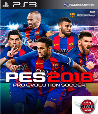 PES 2018 PS3 Digital - comprar online