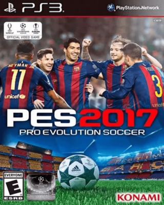 PES 2017 PS3 Digital