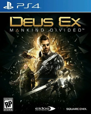 Deus Ex: Mankind divided PS4 Digital PRIMARIO
