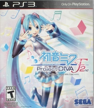 Project Diva F 2nd PS3 Digital - comprar online