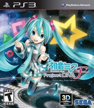 Project Diva F PS3 Digital