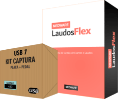 Medware Laudos Flex + Placa USB S-Vídeo