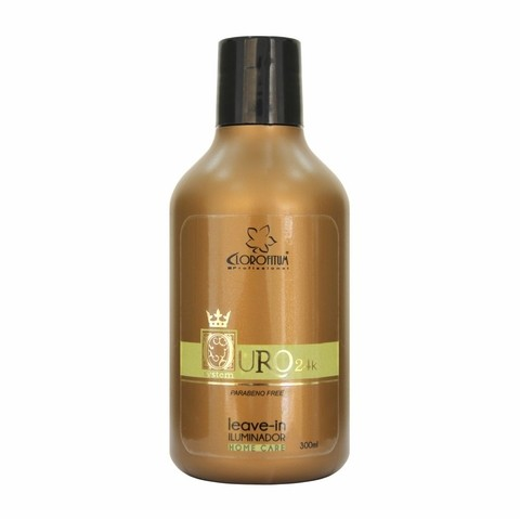 Leave-in Iluminador Ouro 24k - 300ml