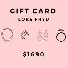 GIFT CARD $1690