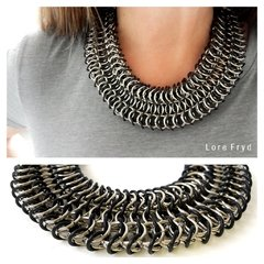 COLLAR ELOISA BLACK - Lore Fryd