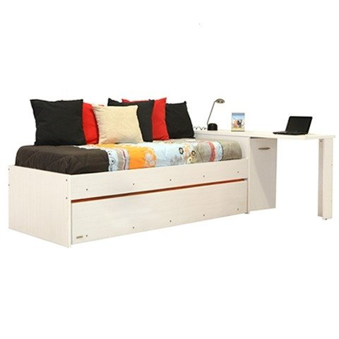 DIVAN CAMA PLATINUM Estudiantil Color Blanco Mod. 956