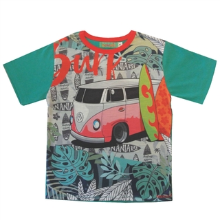 REMERA SURF TALLE 12 A 18 MESES