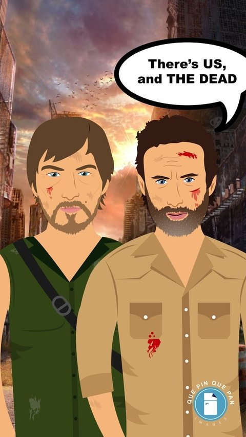 Rick Grimes - The Walking Dead en internet