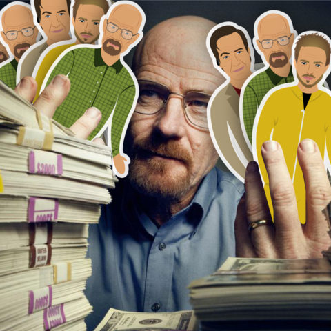 Walter White - Breaking Bad - Que Pin Que Pan Imanes