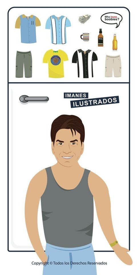 charlie sheen harper iman regalo two and a half men