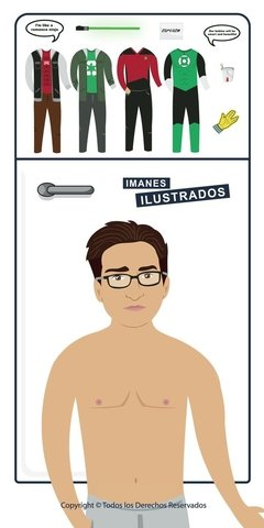 leonard Hofstadter iman regalos the big bang theory