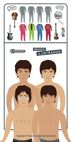 the beatles iman regalo