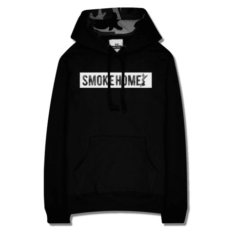 Moletom || SMOKE HOME || Camuflado BW