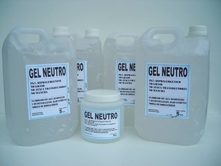 Gel Neutro 5 Kilos Alta Viscosidad