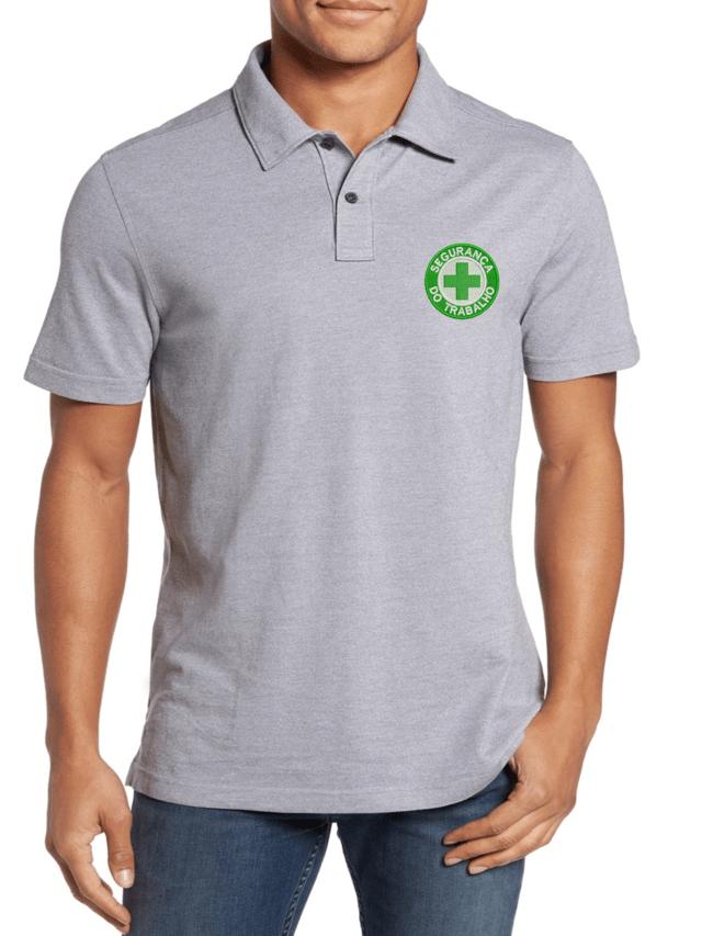 1629da12a7480 Camisa Gola Polo Segurança do Trabalho Ref .1002