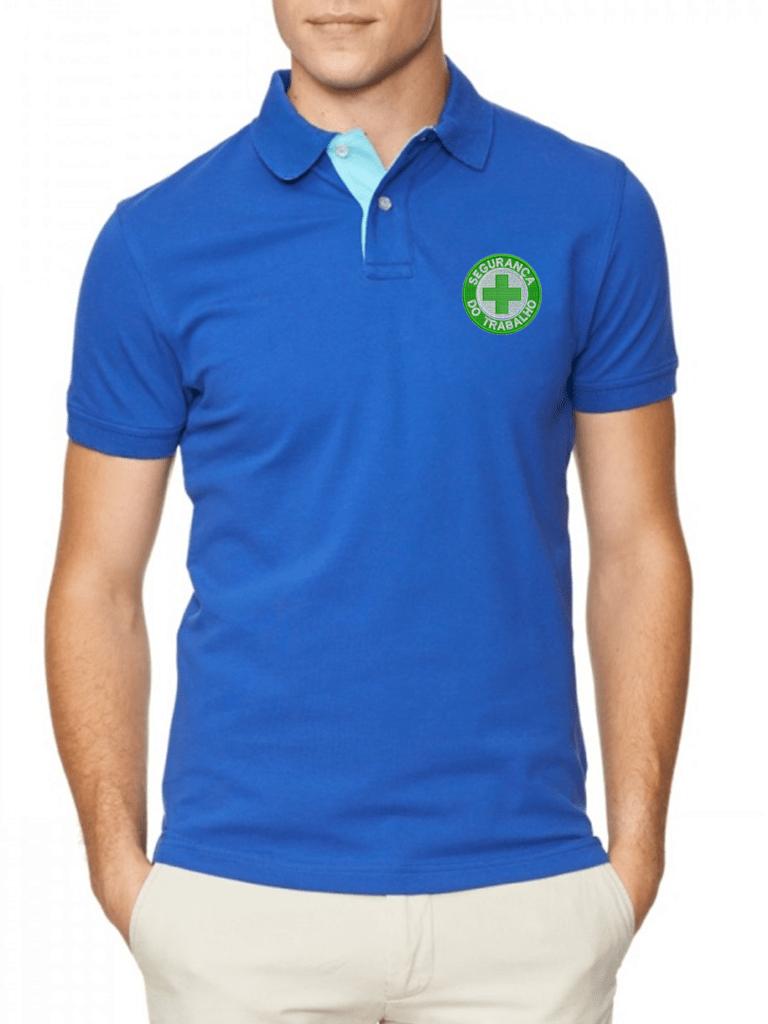 2d664dbedbbb0 Camisa Gola Polo Segurança do Trabalho Ref .1004