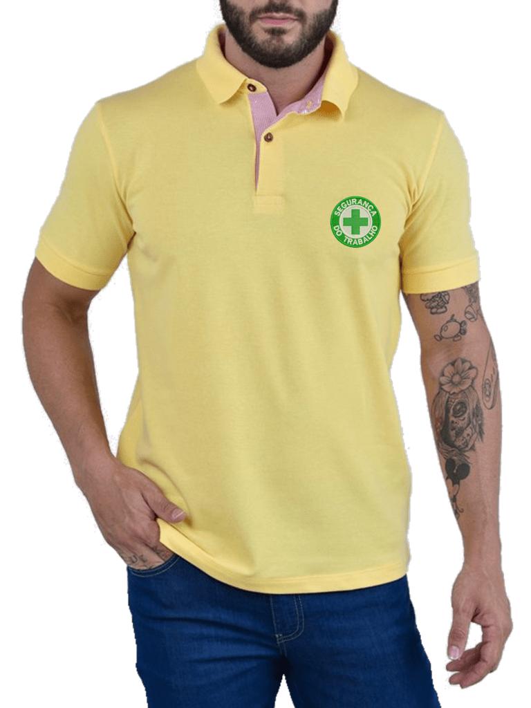 ce8e7f493ea1f Camisa Gola Polo Segurança do Trabalho Ref .1005
