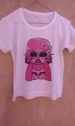 Remera Dark Kitty Vader