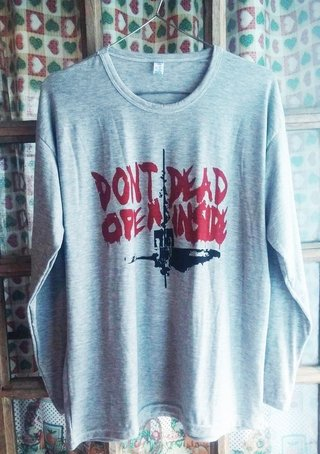 Remera manga largaThe Walking Dead