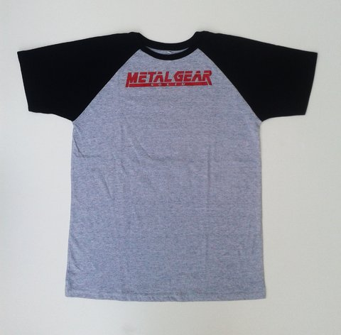 Remera Metal Gear Solid