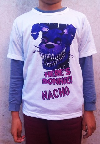 Remera niño Five Night At Freddy