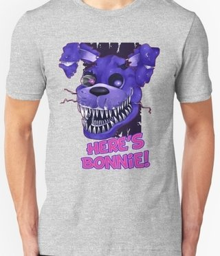 Remera Five Night At Fredy´s - comprar online