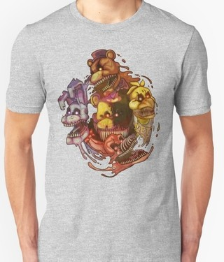 REMERA FIVE NIGHT AT FREDY - comprar online