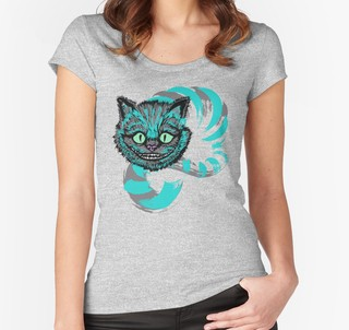 Remera Alice in Wonderland Cat
