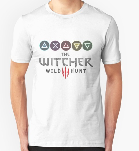 Remera The Witcher 3 Sings