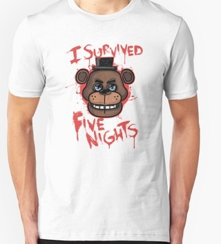 REMERA FIVE NIGHT AT FREDY
