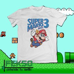Remera - Super Mario Bros 3