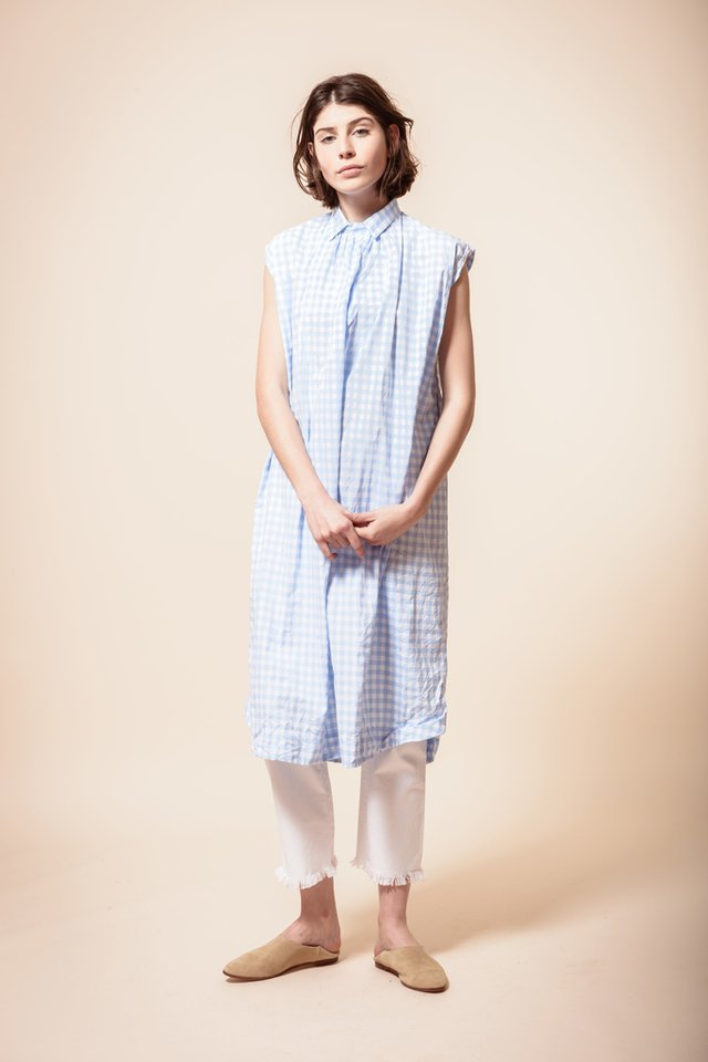 Vestido camisero Akira - Blue Sheep by Cata Chavanne
