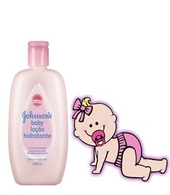 JOHNSON BABY LOÇÃO HIDRATANTE 200ML