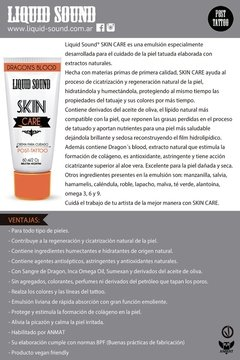 Liquid Sound SKIN Care - Emulsión post tattoo 60gr - Liquid Sound