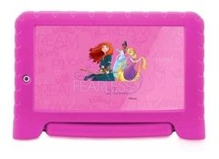 Tablet Multilaser Disney Princesas 8gb Wifi 7'' Rosa - Nb281 - Ivaicompras