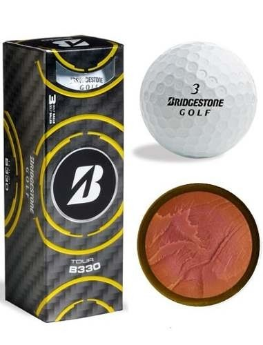 KADDYGOLF | BRIDGESTONE | PELOTAS B330 - TUBO X 3 - Kaddy Golf
