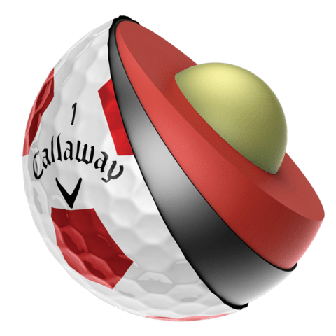 KADDYGOLF | CALLAWAY | PELOTAS CHROME SOFT TRUVIS - Kaddy Golf