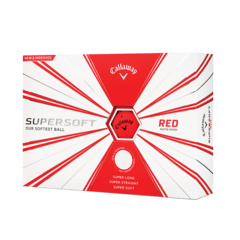 CALLAWAY | PELOTAS SUPERSOFT ROJA OPACA
