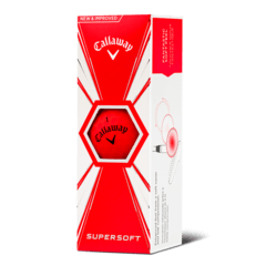 CALLAWAY | PELOTAS SUPERSOFT ROJA OPACA en internet