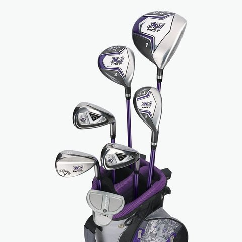 KADDYGOLF | CALLAWAY | SET COMPLETO XJ HOT JUNIOR 9 A 12 AÑOS NIÑAS
