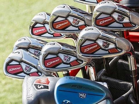 KADDYGOLF | WILSON STAFF | HIERROS D300 GRAFITO - Kaddy Golf