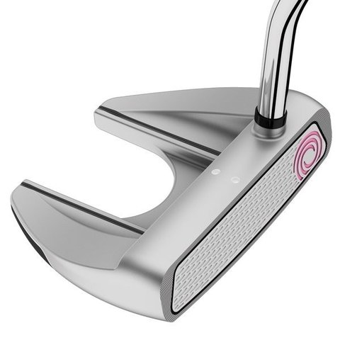 ODYSSEY | PUTTER WHITE HOT V LINE FANG LADY GRIP SUPERSTROKE - Kaddy Golf