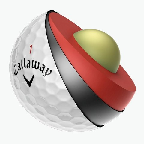 KADDYGOLF | CALLAWAY | PELOTAS CHROME SOFT X TUBO X 3 - Kaddy Golf
