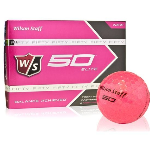 KADDYGOLF | WILSON STAFF | PELOTAS FIFTY ROSA en internet