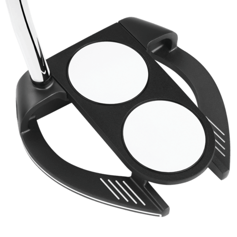 ODYSSEY | PUTTER O-WORKS BLACK 2 BALL FANG SUPERSTROKE