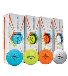 CALLAWAY | PELOTAS SUPERSOFT MULTICOLOR en internet