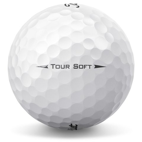 TITLEIST | PELOTAS TOUR SOFT X 12 BLANCAS/AMARILLAS - Kaddy Golf